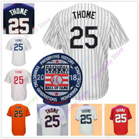 Wholesale careers wine - Jim Thome Jersey 2018 Hall Of Fame Patch Career Cleveland Philadelphia CWS LAD Minnesota Baltimore Jerseys size S M L XL 2XL 3XL 4XL 5XL