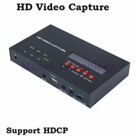 Wholesale Video Capture Box - 2016 eZcap283 YPbPr Recorder Box With Scheduled Recording 1080P HDMI Game Capture for XBOX One 360 PS3 HD Video Capture
