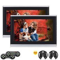 Wholesale usb port control - Eincar 10.1'' Multimedia Monitor Car Headrest car DVD Player HDMI USB SD Port + Games With One Pair Of IR Headphone Remote Control