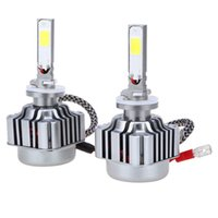 Wholesale 2pcs W LM H27 LED Light Car Headlight K Vehicle Conversion Bulb
