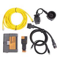 bmw icom full toptan satış-BMW için ICOM A2 B C araba Teşhis Aracı no_Software ICOM için bmw obd2 aracı icom a2 2018 yazılım tam kablo DHLfree nakliye
