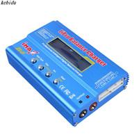 Wholesale max car battery - kebidu 1pc Li-ion Ni-Cd RC Battery iMAX B6 Lipro NiMh Balance Digital Charger Discharger for NiMH NiCd Battery 60W Max