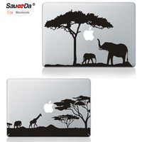 pegatinas de macbook air al por mayor-Sauceda Laptop Skin Sticker Decal para MacBook pro 13 Cartoon reemplazar cubierta de protección para Macbook Air Pro Retina 13.3 negro