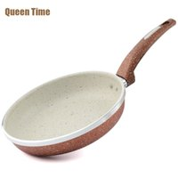 "Wholesale Heating Grips - Queentime Non -Stick Egg Crepe Cake Grill Pan Fries 8 .5 ""Frying Pan With Heat Resistant Grip Gas Cooker Dishwasher Cooking Tools"