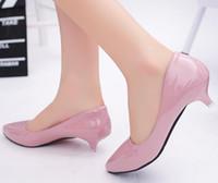 trabalho mais leve venda por atacado-O novo isqueiro primavera 2016 sapatos baixos sapatos femininos ponto baixo e trabalho