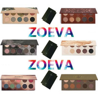 Wholesale nake palette resale online - Z O EVA Eyeshadow Palette Mixed Metals Cocoa Blend Rose Golden NATURALLY YOURS RODEO BELLE SMOKY Nake Eye Shadow
