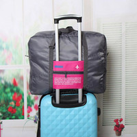 Wholesale hunt clothes online - Portable Large Capacity Airfrieht Luggage Travel Storage Bag Folding Luggage Clothing Pack Tidy Organizer Pouch Suitcase Handbag