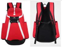 erkek çocuklar için markalı okul çantaları toptan satış-2017 Marka Tasarım Erkekler Sırt Çantası Okul Çantası Gençler için Boys Laptop Çantası Backbag Adam Schoolbag Sırt Çantası Mochila ABD Elite Kevin Durant KD