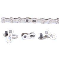 schnelles gelenk großhandel-100 stücke Quick Bike Kette Master Link Joint Stecker Stabile Metallschnalle Berg Radfahren Verwenden Schnelle Geschwindigkeit Clips Viele Größe 1 55dc ZZ