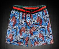 Wholesale male covers - GOOD Board Shorts Mens Summer Beach Shorts Pants High-quality Swimwear Bermuda Male Letter Surf Life Men Swim Tiger sup Shorts g pants 8218