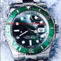 Wholesale Swiss Movement Dive Watches - 2018 Luxury Best V7 Version Noob Factory Mens Automatic Watch Ceramic Bezel Swiss Eta 2836 Movement Date Men Luminescent Dial Dive Sport