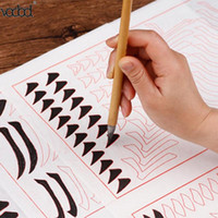 Calligraphy Writing Pen Bamboo Artist Chinese Ink Painting Goat Hair Brush Pens Kids Learn Stationery Tools School Supplies
