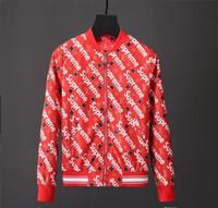 Wholesale Mens Bikers Jacket - 2018 Hot Sale New Autumn And Winter Fashion Biker Jacket High-end Of Hoodies Mens Jackets For Men Coat Windbreaker