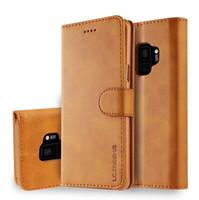 billetera de oro galaxy al por mayor-Para iPhone X XS Max XR 8 7 6 6 s más funda de cuero de lujo de patente de oro para Galaxy S9 Plus S8 S7 edge Note8 Marcas Flip Cover