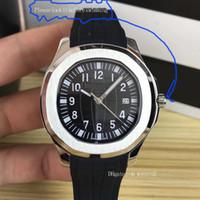 conceptos de lujo relojes al por mayor-El concepto de tierra Relojes para hombre de calidad superior Caucho negro Movimiento mecánico automático Correa plegable Productos de natación de lujo