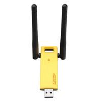 pc wifi inalámbrico usb al por mayor-Dual Band 1200Mbps Wireless USB 3.0 Gigabit Wifi Adapter 2.4G / 5Ghz RTL8812AU Tarjeta de red Dongle Con alta ganancia Antenna para PC