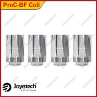 ingrosso kit originale di joyetech-Joyetech ProC-BF Bobina testa 0.5ohm 0.6ohm 1.0ohm 1.5ohm Per CuAIO D22 Kit eGo Aio 100% Originale
