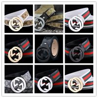 Wholesale black leather sash - Luxury G Smooth button buckle Designer belts men's Waistband man genuine leather Casual hombre Waist Strap fashion Cowskin sash men 111