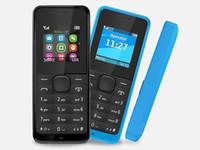 cartões india venda por atacado-Goodphones Bar desbloqueado telefone FM 4 cartão SIM 4 stand by 1,44 polegadas 1050 celular com rádio FM chamado
