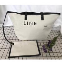 ankerhandtaschen großhandel-NEUE Strandtaschen Frau Anchor Composite Canvas Handtasche Lady Sea Reisetasche Casual Totes Haspe Schultertasche Tote Brieftaschen