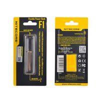 f1 ladegerät großhandel-Original Nitecore F1 Ladegerät Flexible Intellicharger E Zigaretten Akku USB Ladegerät für 18650 18500 14500 Li-On Akkus 100% original