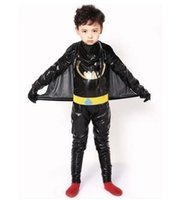 Wholesale free cosplay online - the new style children Cosplay Spiderman Batman Boys and girls Dance Conjoined clothes short style