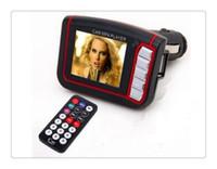 control remoto inalámbrico lcd al por mayor-Kit de coche Reproductor de MP3 Transmisor FM inalámbrico Modulador wma inalámbrico USB SD MMC LCD con control remoto