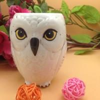ingrosso tazza in ceramica animale-Hedwig Owl Mug Animal Ceramic Mug Coffe Cup Xmas Gift Collection