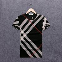 pfirsich weiß anzüge großhandel-2018 nagelneue Hüftewinter-Männer T-Shirt Kurzhülse 100% Baumwolle poloshirt Hemdmänner teel Hüfte 3g Entwerfermannt-shirts # A303