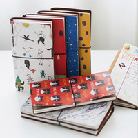 Wholesale finance planner resale online - School Supplies Cartoon Handbook DIY Account Financing NotDiary Memos Travel Weekly Planner Organizer Notepads Cute Gift