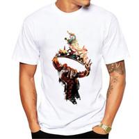 Wholesale fire shirts - Game of Thrones Targaryen Fire & Blood T Shirt For Men 2018 Summer Hot Men T-Shirts Hip Hop Style 100% Cotton Short Sleeve Shirt