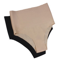 Wholesale Slimming Pants Shaper - Seamless Women's High Waist Tummy Control Body Shaper Slimmer Briefs Slimming Pants Knickers Trimmer Tuck Drop Shipping