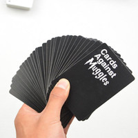 Wholesale paper party - cards against muggles party cards game more cards Trading Card Games