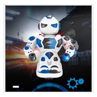 Wholesale animal robots toys for sale - Group buy New Pattern Electric Robot Children Early Education Model Toy Glittering And Sounding Toy Gift For Kid ab W