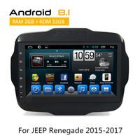 ingrosso volante di navigazione gps-Sistema di navigazione GPS Dash Car DVD Gps Sistema di navigazione JEEP Renegade 2015 2016 2017 Input / Steering Wheel Control
