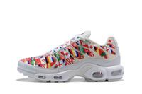 nitelikler iyi ayakkabı toptan satış-Tasarımcı Wd Fincan Sınırlı Artı Tn 95 NIC QS Dışında Uluslararası Bayrak Koşu Ayakkabıları için kaliteli Erkek Kadın Sneakers Boyutu 36-46