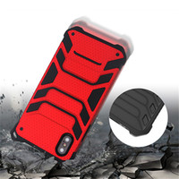 Wholesale Iphone 5s Case New - New Hybrid Armor Case Dual Layered Shockproof Phone Case Cover For iPhone X 8 7 6 6S Plus 5 5S Sumsung Note8 S7 Edge S8 Plus