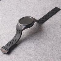 s3 fach groihandel-Für Samsung Gear S3 Frontier 22mm Armband Gurt mit kostenlosen Tools beste Qualität Zubehör Löcher Armband Falten Schnalle Gummi