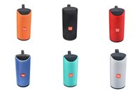 home radio mp3 player achat en gros de-TG113 Bluetooth Haut-parleurs Radio FM TF USB AUX Play Pas cher Portable Basse Sans Fil HIFI Lecteur MP3 Haut-Parleur Extérieur Big Sound Better Charge2
