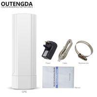 Wholesale router bridges resale online - 3KM GHz Mbps Outdoor CPE AP WiFi Router Wireless Access Point Wi fi Extender Smart PTP Digital Display CPE Bridge