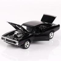 autos großhandel-Metal Cars Dodge Charger Die schnelle und die wütende Free Shipping Alloy Car Models Kinder Spielzeug für Kinder Classic Metal Cars