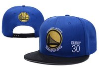 Wholesale ball state cap - 2018 Fashion Men's Women's Golden State curry Peaked Caps Adjustable Sports Hats Man Woman basketball Snapbacks mix order