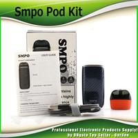 Wholesale Auto Charge - Original SMPO POD Starter Kits 1.8ml Cartridge Tank 650mAh Auto Temperature Control Quick Charging System Vape Pods Kit 100% Authentic