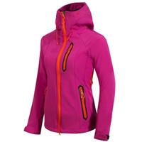 женские куртки с бионической курткой оптовых-Горячие северные женские Denali Apex бионические куртки открытый повседневная SoftShell теплый водонепроницаемый ветрозащитный дышащий лыж лицо пальто женщин 1522