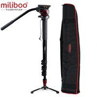 camcorder preis großhandel-Großhandel MTT705B Portable Carbon Fibre Stativ Einbeinstativ für ProfessionalCamera Camcorder / Video / DSLR stehen, halber Preis von Manfrotto