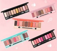oem lidschatten großhandel-Begleitung 2018 neue zehn Farbe Lidschatten Set 10 Farbe Explosion neues Produkt Make-up OEM