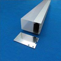 cubierta de perfil de tira de led al por mayor-Envío gratis Cubierta de cable de aluminio de alta calidad tira de luz led perfil de aluminio canal de aluminio 2 m / pcs 30 m / lote