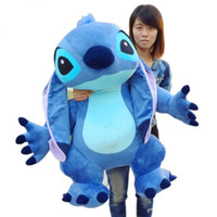 Wholesale real soft toys for sale - Group buy Real Pictures Jumbo Giant Stuffed Soft Plush Cute Stitch Toy cm Nice Gift For Kids