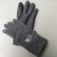 winterkletterhandschuhe großhandel-Heißer verkauf TN Foutdoor Herbst und winter klettern handschuhe männer frauen fleece rutschfeste reiten fahrrad sport touchscreen handschuhe