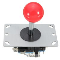 Wholesale arcade games parts - New Arrival DIY Arcade Game Joystick Red Ball Way Replacement Parts For Fighting Stick Parts Game Competition for Pro Gamer